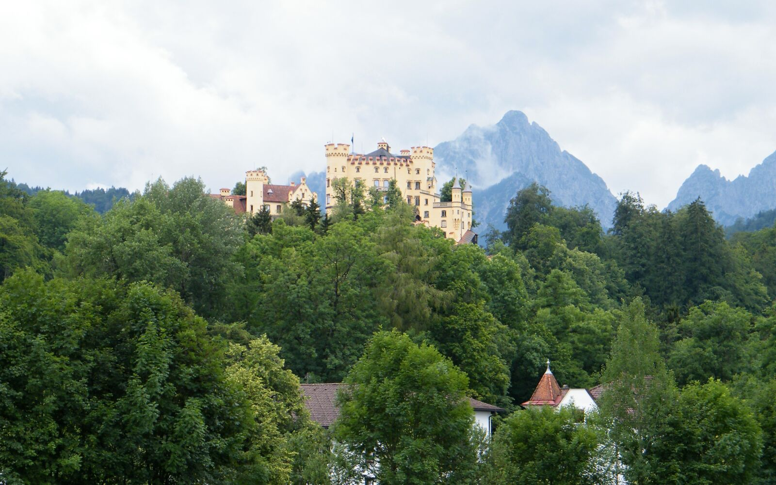 """Fujifilm FinePix S2000HD sample photo. """"Castle, forest, mountains"""" photography"""