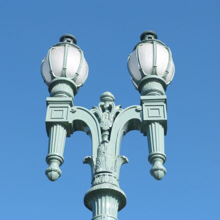 lamp posts, lampposts, streetlight, Panasonic DMC-FZ60