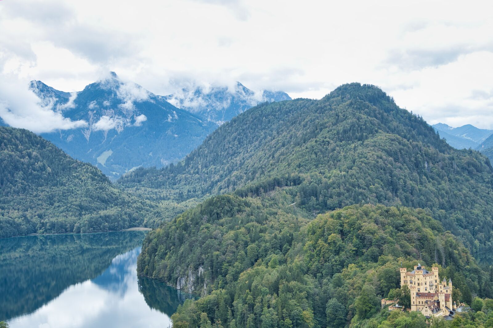 "Sony a6400 sample photo. ""Mountains, alpsee, hohenschwangau"" photography"