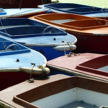 boats, river, recreation, Panasonic DMC-FS35