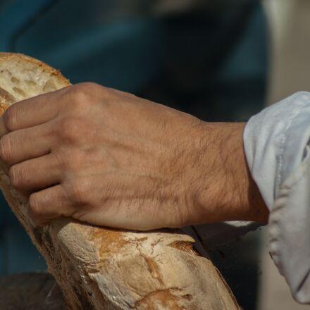 bread, stick, sandwich, Pentax K10D