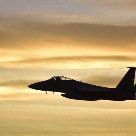 f-15e, strike eagle, nellis, Nikon D750