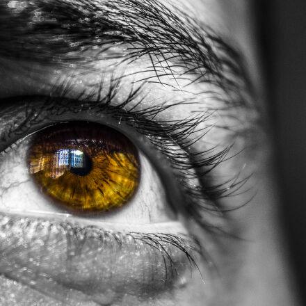 eye, face, eyebrow, eyelid, Canon EOS 600D