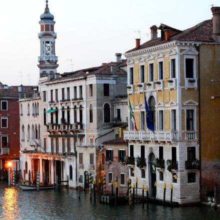 venice, houses facades, channel, Nikon 1 S1