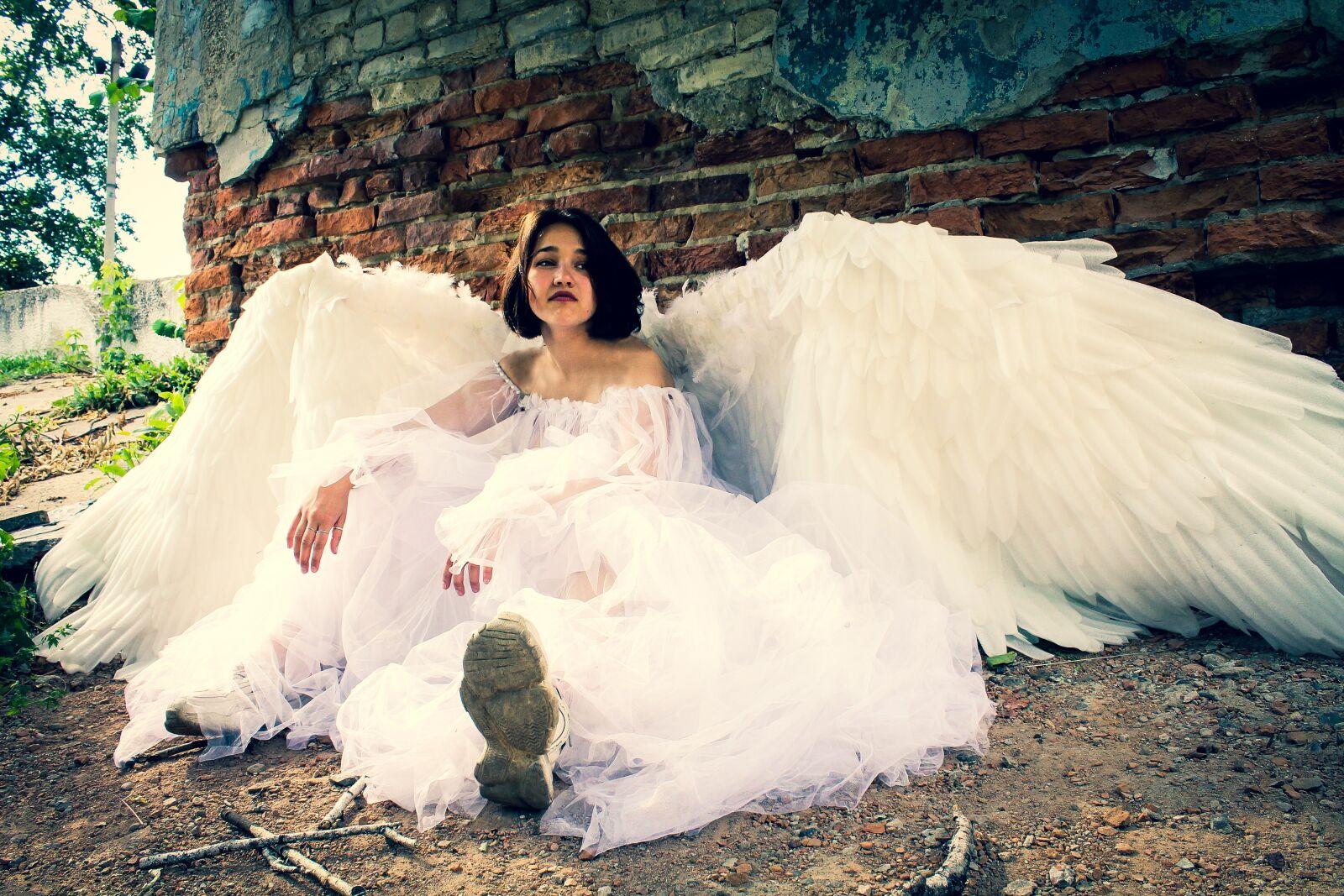 "Canon EOS 1100D (EOS Rebel T3 / EOS Kiss X50) sample photo. ""ангел, фотосессия, рок"" photography"