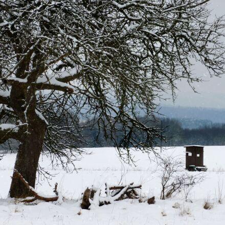 winter, snow, wintry, Panasonic DMC-FS35
