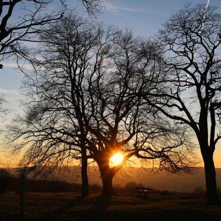 sunset, nature, nature conservation, Canon EOS 750D