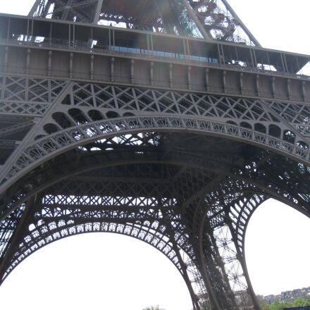 paris, eiffel tower, france, Canon DIGITAL IXUS 970 IS