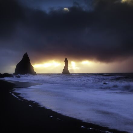 iceland, vik, landscape, Canon EOS 5D MARK II