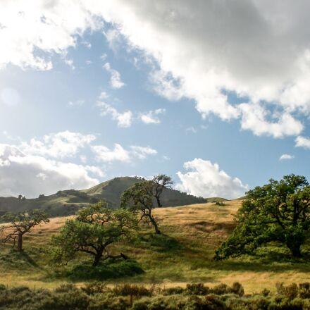 california, usa, hills, Canon EOS 1100D