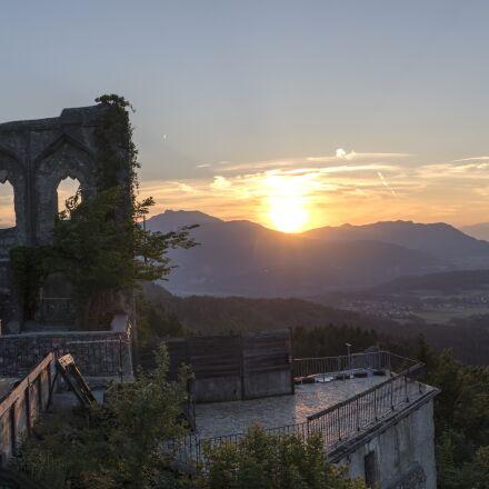 sunset, evening, abendstimmung, Canon EOS M6
