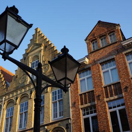 street, lamps, Sony NEX-5N
