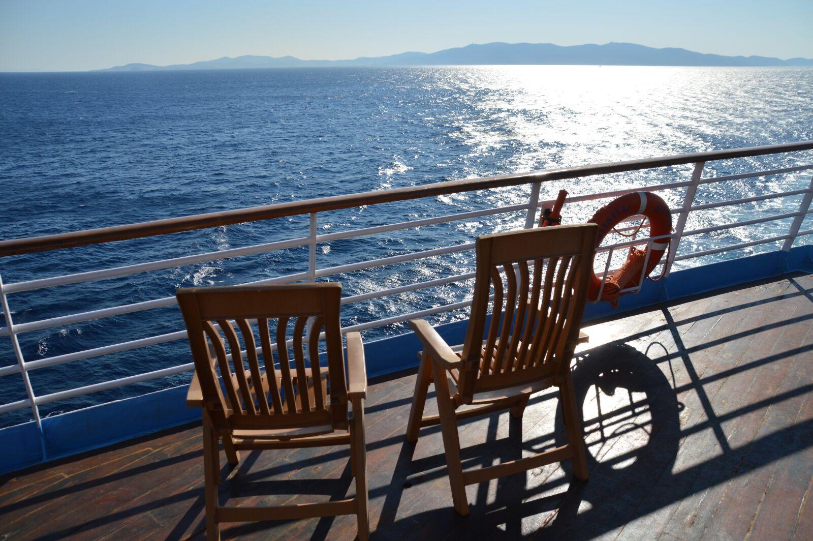"""Nikon D3200 sample photo. """"Aegean, sea, blue, sea"""" photography"""