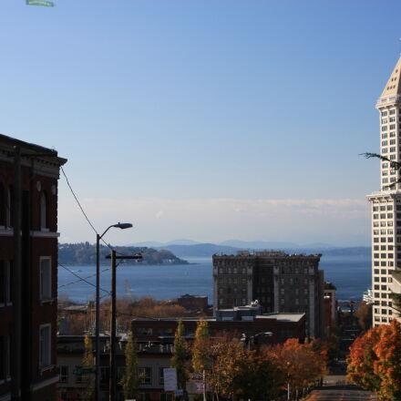 architecture, downtown, puget, sound, Canon EOS 40D