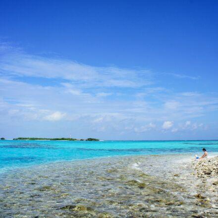maldives, island, blue, Sony NEX-5