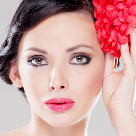 face, woman, portrait, Canon EOS 60D