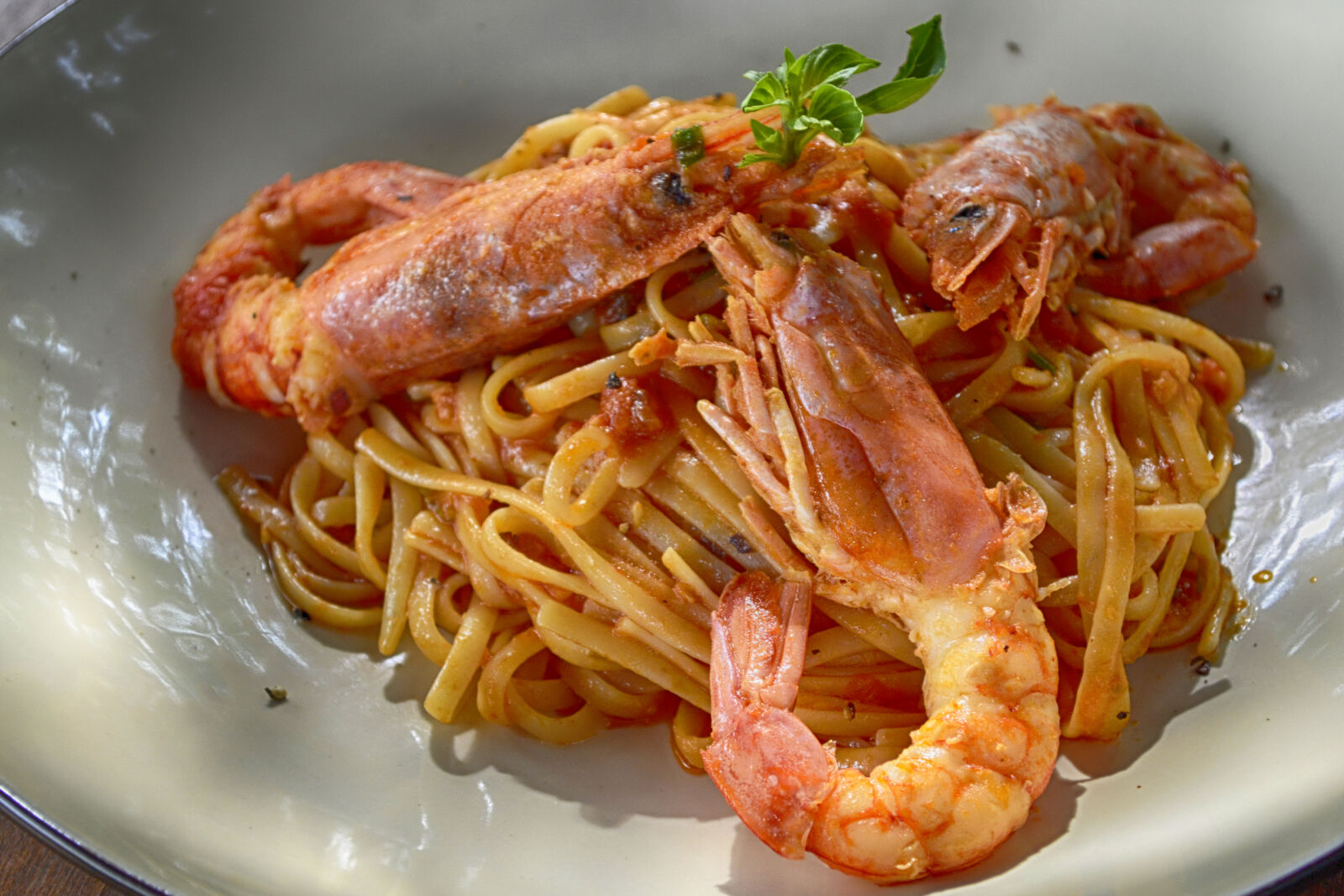 """Nikon D3100 sample photo. """"Cooked, shrimp, with, noodles"""" photography"""