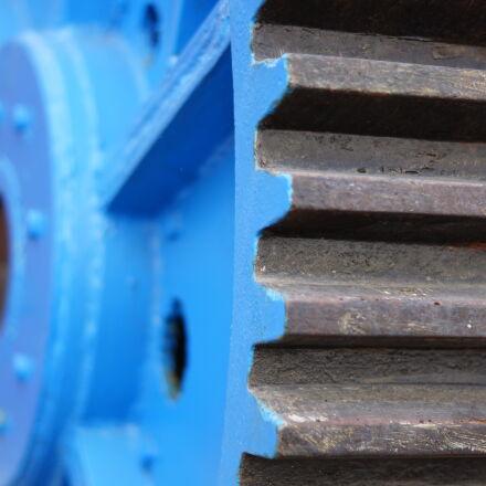 blue, engrenage, mecanic, metal, Sony SLT-A65V