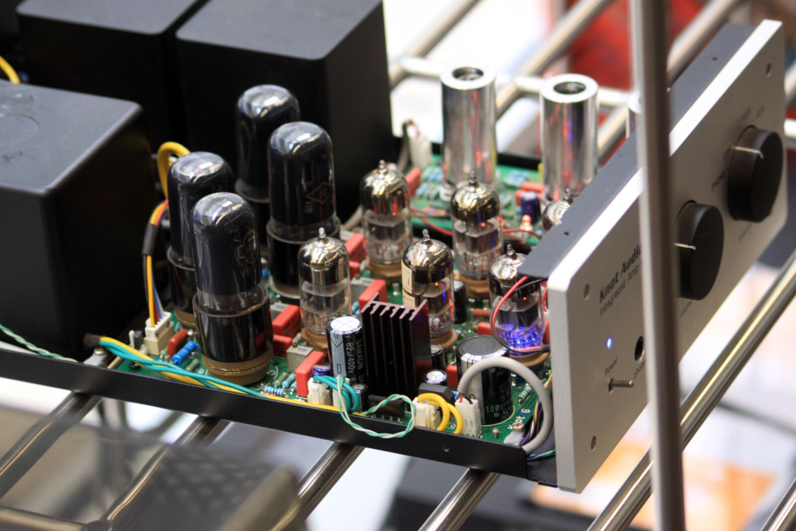 """Canon EOS 50D sample photo. """"Vacuum tube, electronic components"""" photography"""