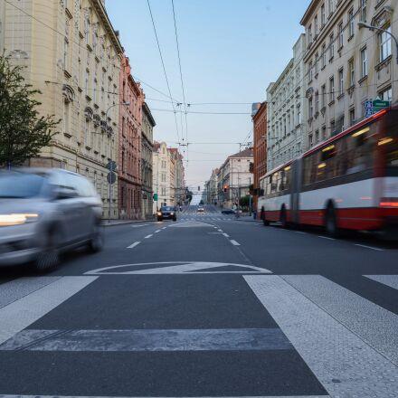traffic, car, crossing, Nikon D600