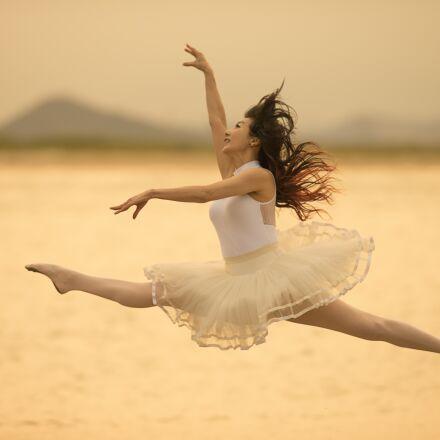 ballet, fly, sea, Canon EOS-1D X