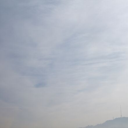 fog, switzerland, tower, towers, Canon EOS 1100D