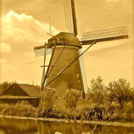 holland, netherlands, windmill, Canon POWERSHOT A3300 IS