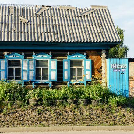 russia, novosibirsk, house, Sony NEX-5