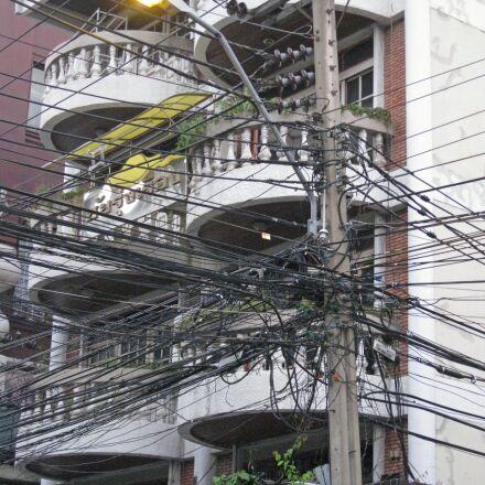 bangkok, street, illumination, Canon DIGITAL IXUS 960 IS
