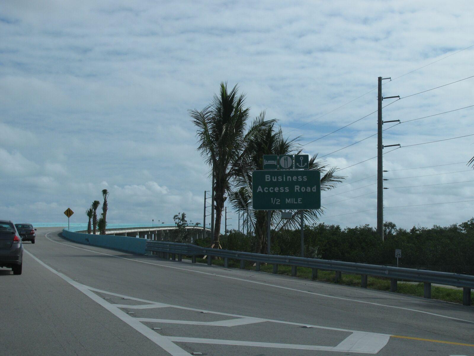 "Canon PowerShot SX110 IS sample photo. ""Florida, key west, bridge"" photography"