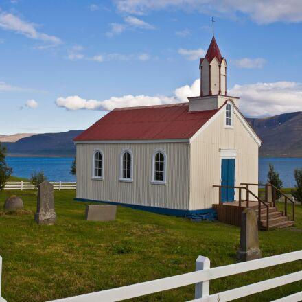 church, iceland, scenic, Canon EOS 5D