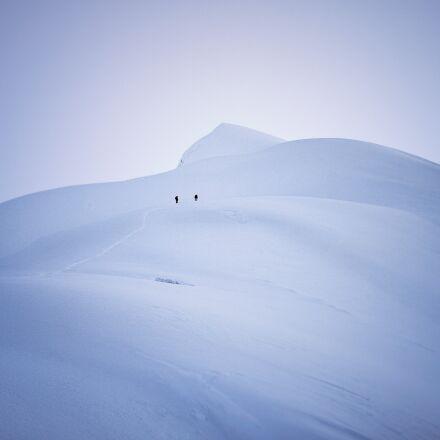 snow, landscape, sky, Panasonic DMC-GF2