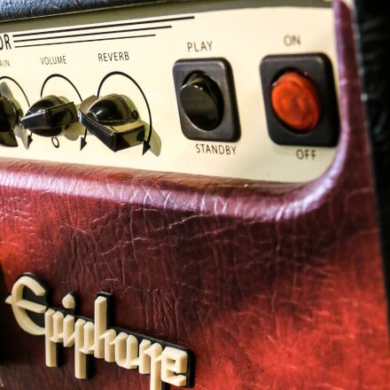 epiphone, amp, guitar, Panasonic DMC-GH1