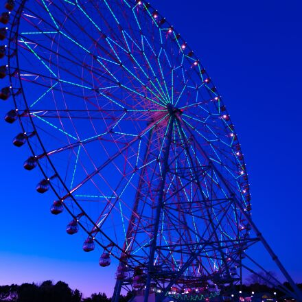ferris wheel, amusement park, Pentax K-7