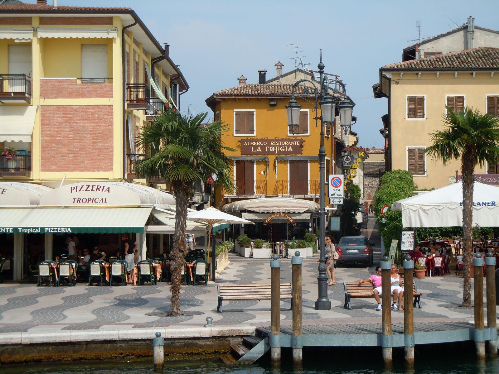 "Nikon Coolpix S8000 sample photo. ""Garda, port, italy"" photography"