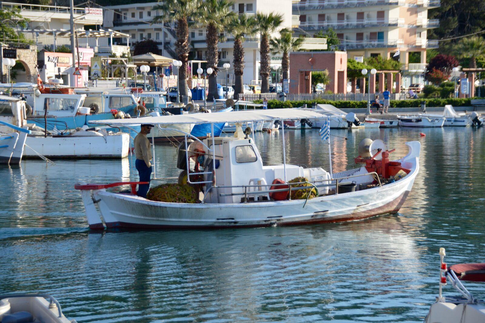 "Nikon D3200 sample photo. ""Attica, fisherman, greece, kalamos"" photography"