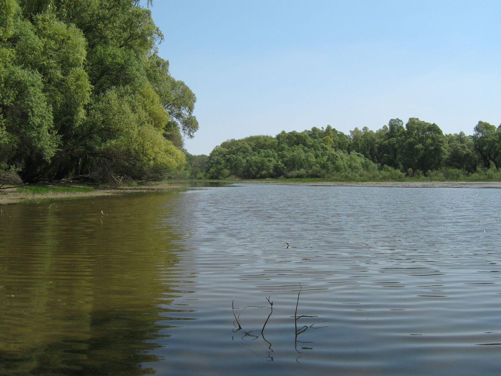 "Canon PowerShot A470 sample photo. ""Lake, water, backwater"" photography"