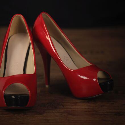 parquet, shoes, pumps, Canon EOS 6D