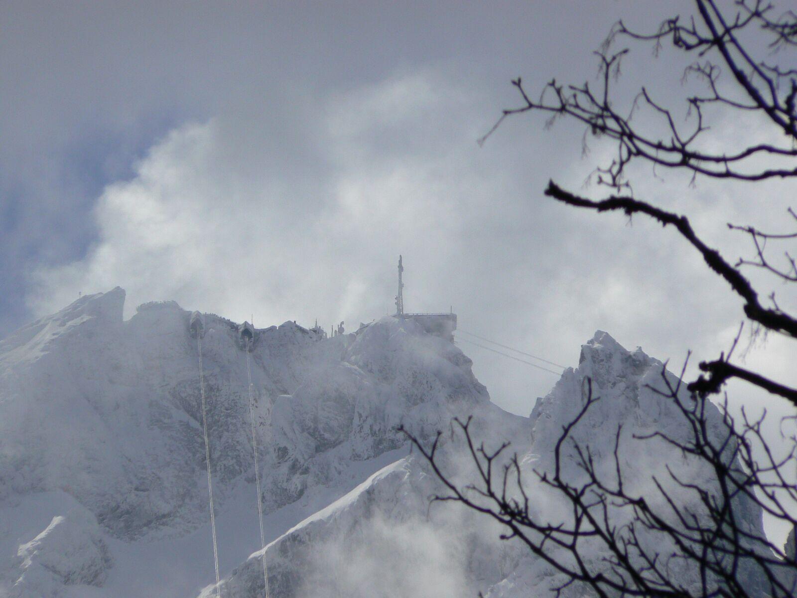 "Panasonic DMC-FZ7 sample photo. ""Mountain, winter, zugspitze"" photography"