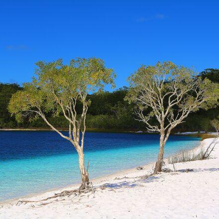 beach, sea, water, Canon EOS 750D