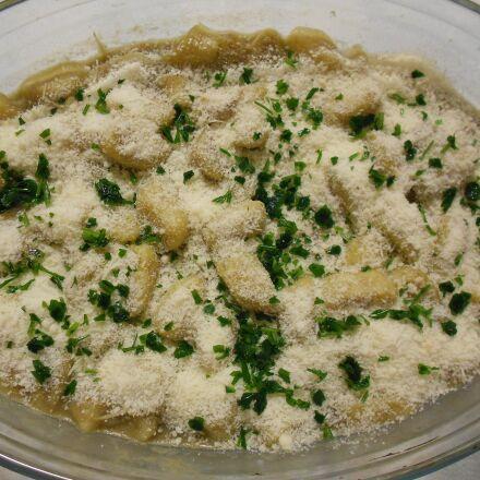 potato gnocchi, cheese, gratin, Nikon COOLPIX S2600
