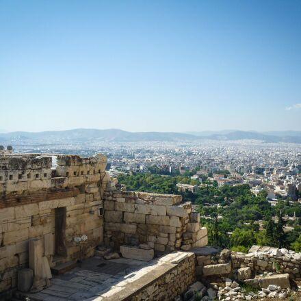 akropolis, athens, greece, Panasonic DMC-FS4