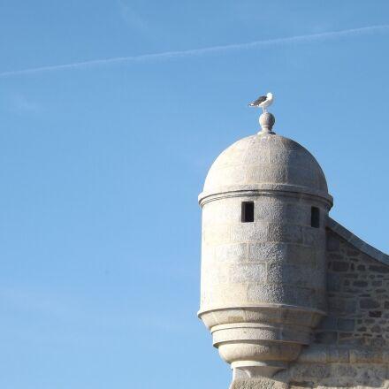 port-louis, citadel, blue sky, Fujifilm FinePix SL310