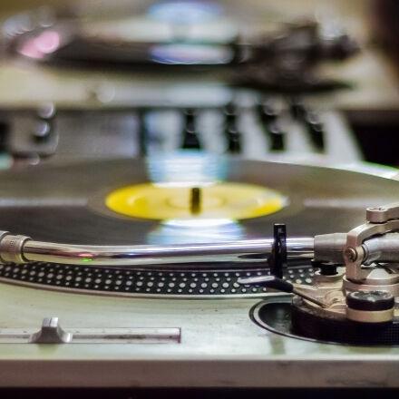 dj, music, record, vintage, Nikon D7000