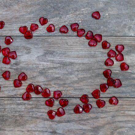 hearts, valentines day, valentine's, Pentax K-5