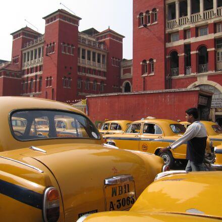 india, kolkatta, taxi, Canon POWERSHOT S70