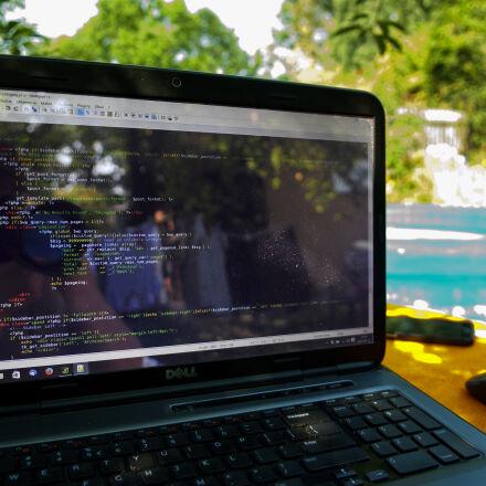 code, coding, computer, dell, Nikon D300S