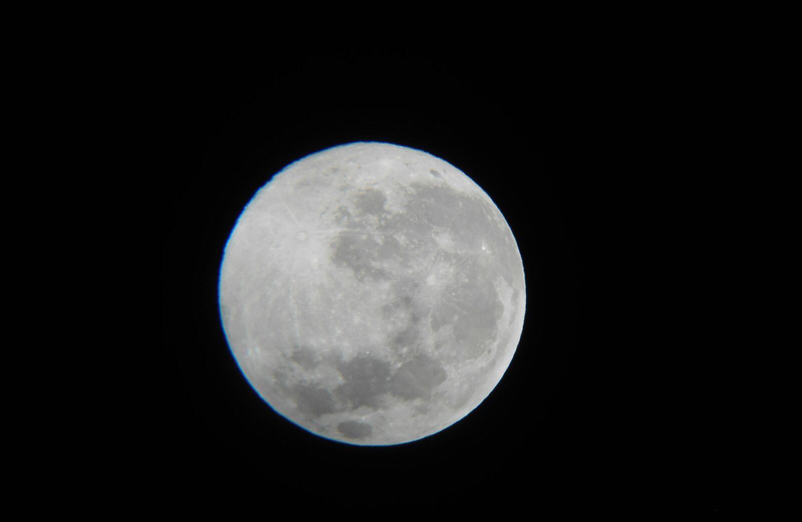 "Nikon Coolpix S4300 sample photo. ""Moon, space, astronomy"" photography"
