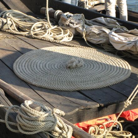 boat, rope, navigation, Canon POWERSHOT SX1 IS