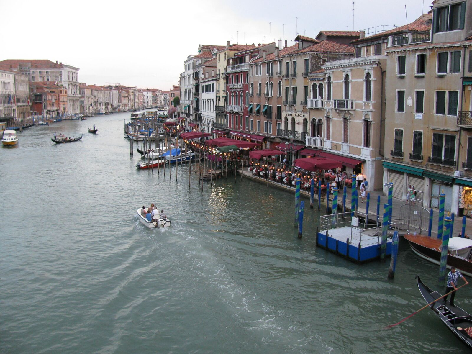 """Canon PowerShot SX110 IS sample photo. """"Venice, channel, italy"""" photography"""